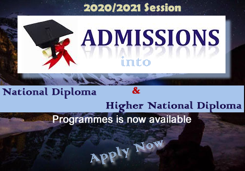 2020/2021 Session Admission...